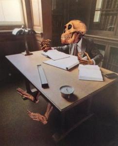 desk skeleton