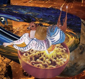 dog cheerio bowl
