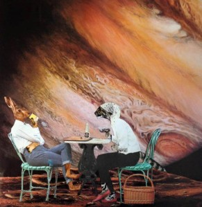 Ganymede tea party